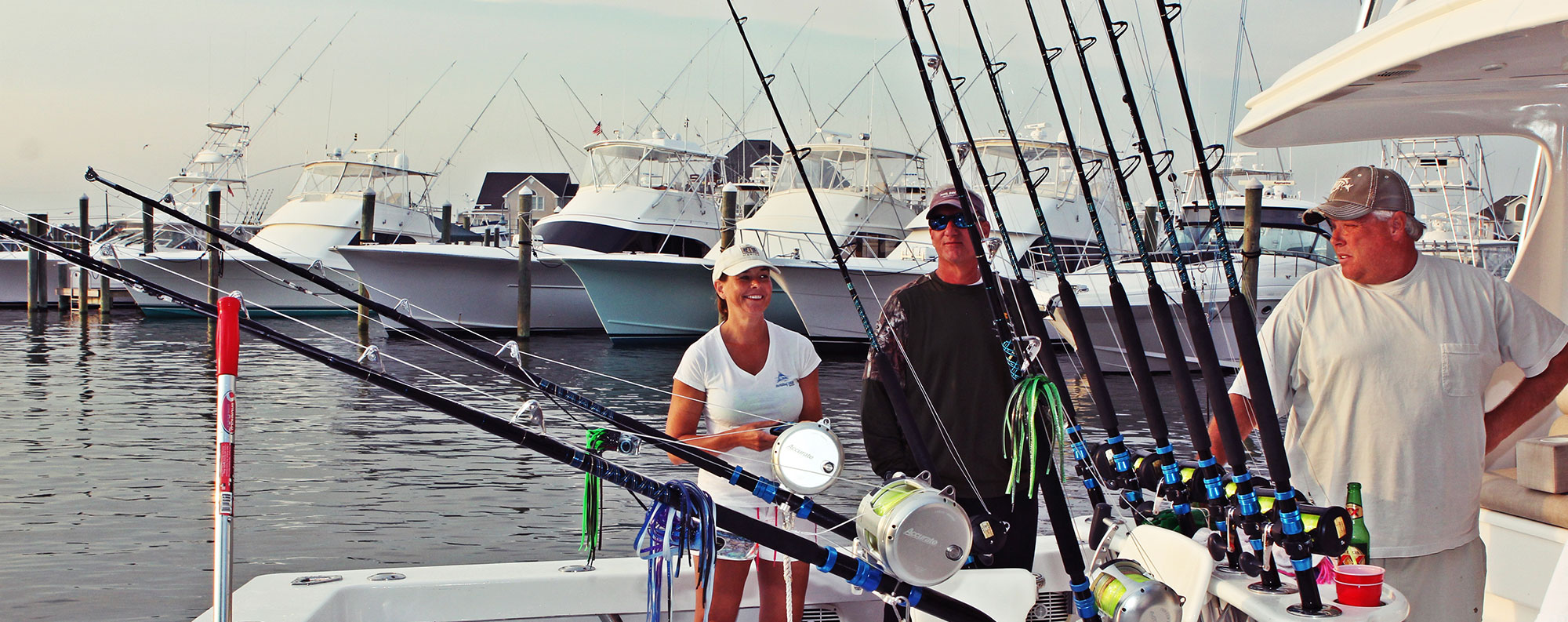 Sunset Marina Fishing Charters Section