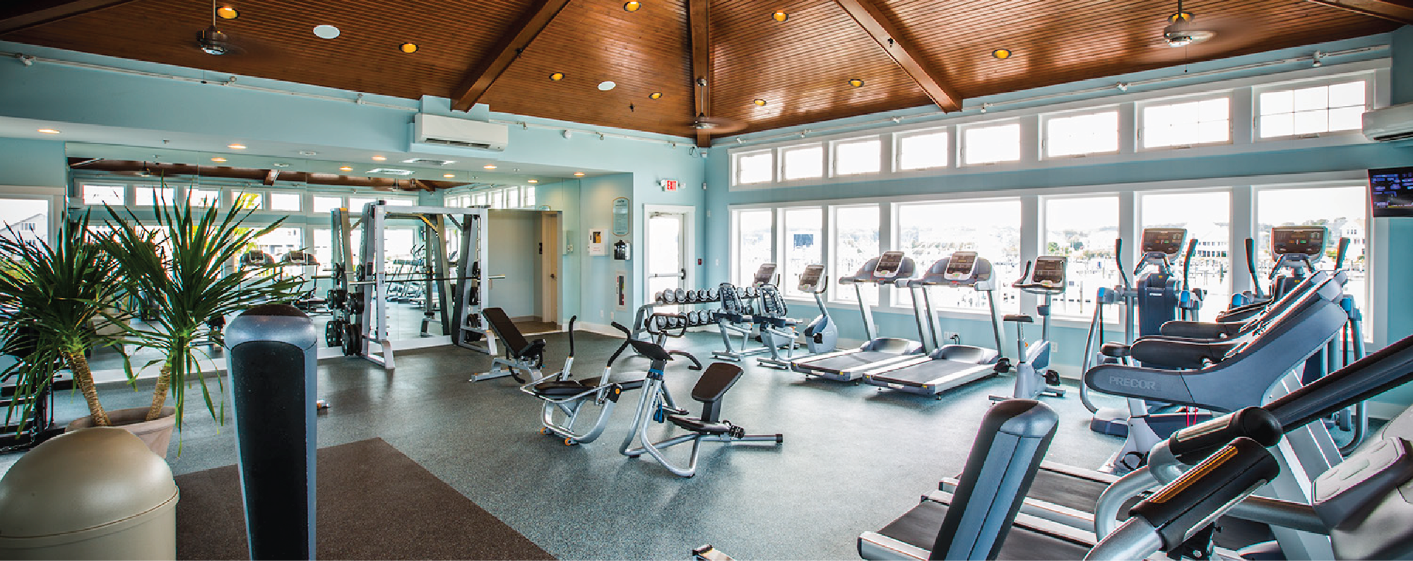 Teal Fitness/Gym Room